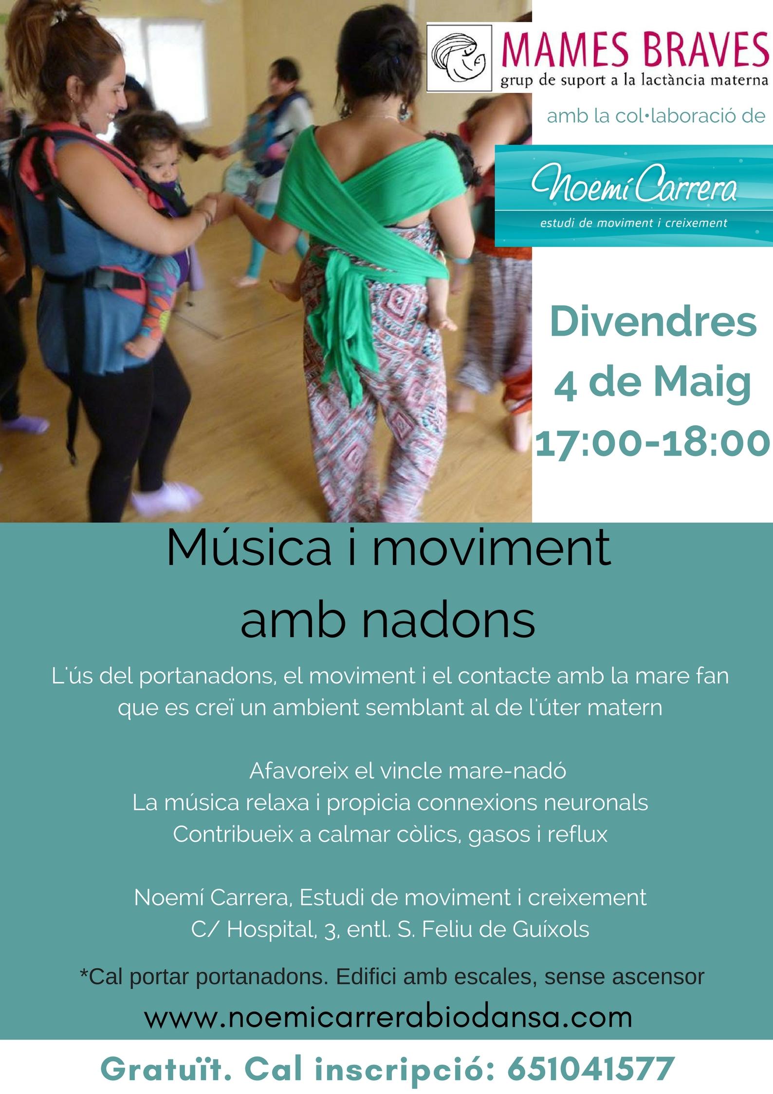 Música i moviment amb nadons_Mames Braves - amb Noemí Carrera_def