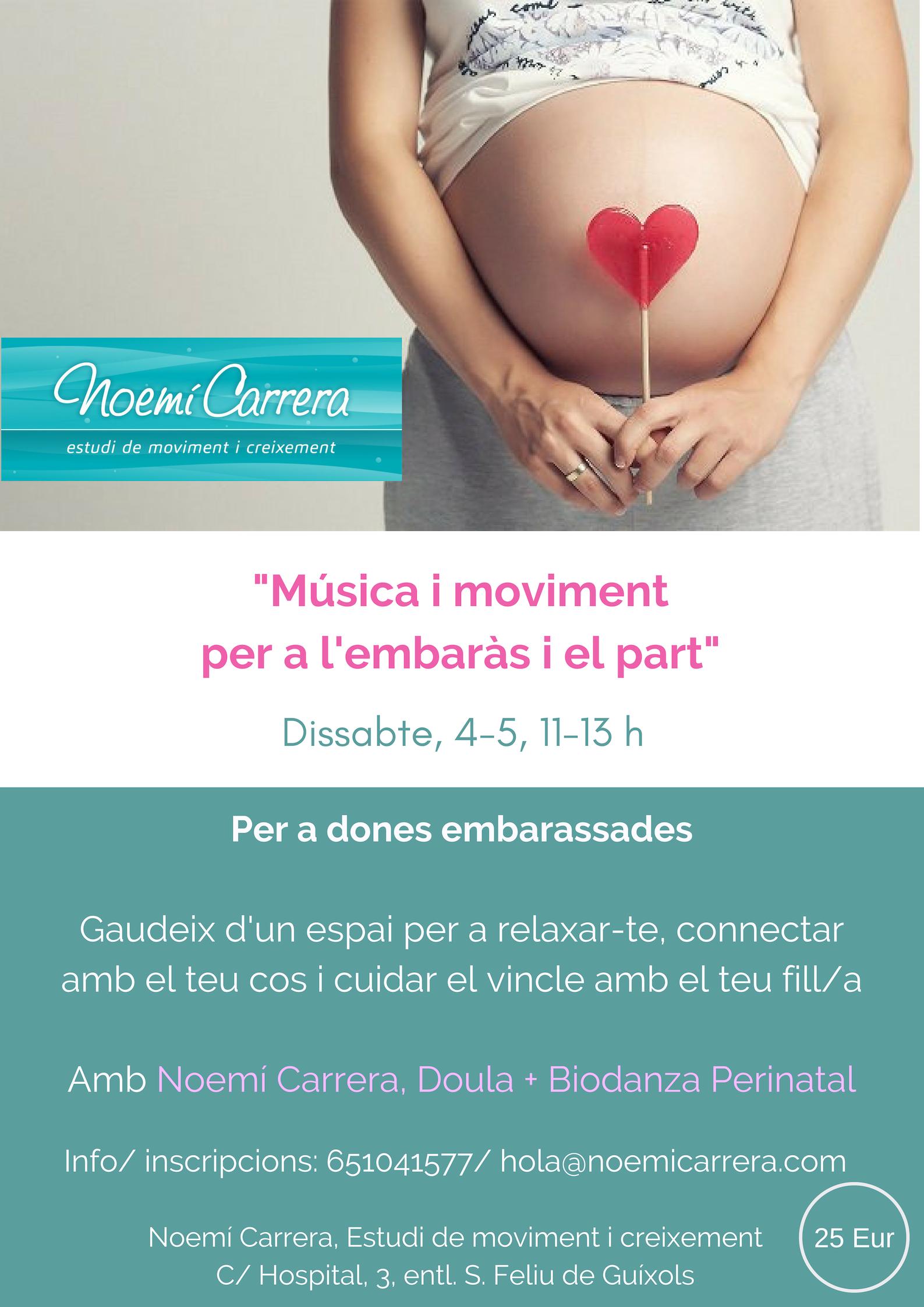 Biodanza embarazadas