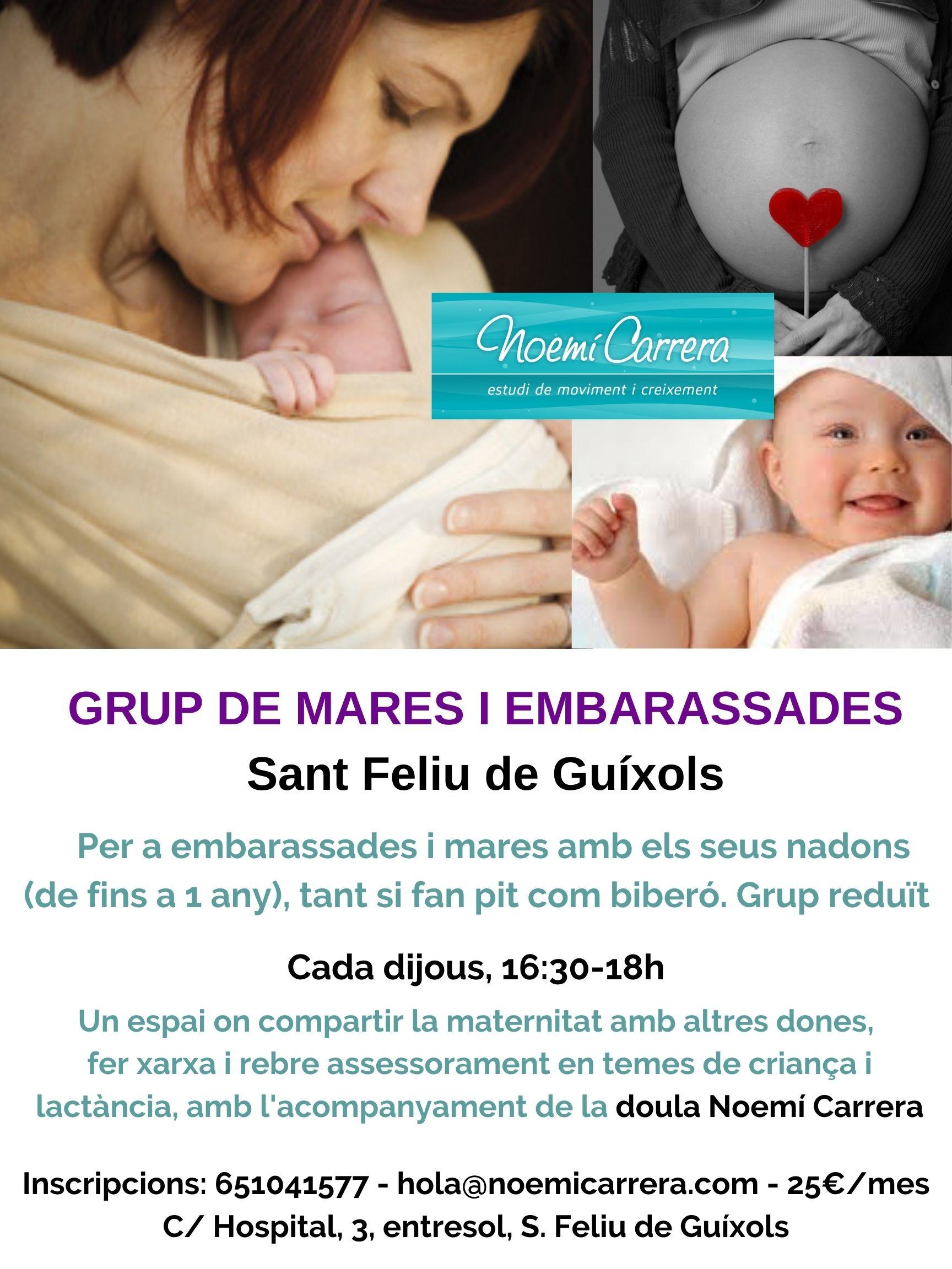 Espai Nado Mares i embarassades Sant Feliu Noemí Carrera